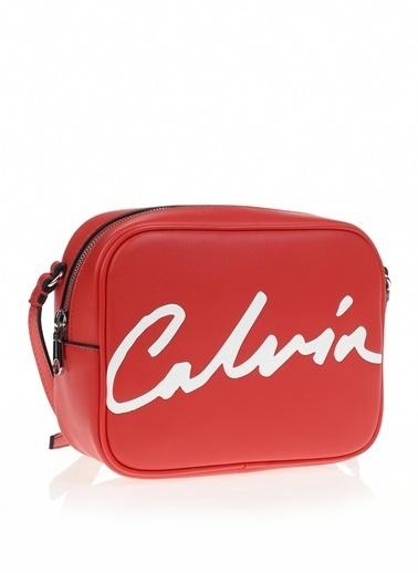 Calvin Klein Messenger / Askılı Çanta Kırmızı